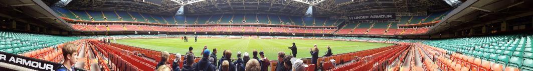 Millenium stadium tour